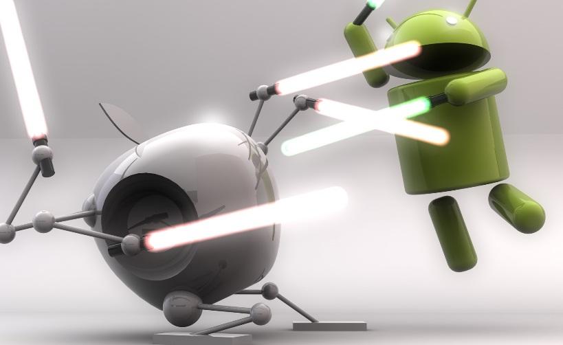 Les différences entre les systèmes d'exploitations iOS et Android