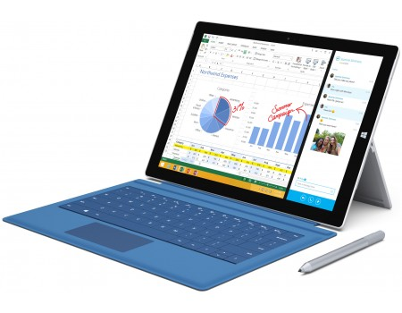 location Microsoft Surface Pro 3